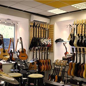 Музыкальные магазины Икряного