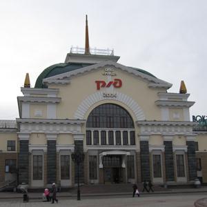 Железнодорожные вокзалы Икряного